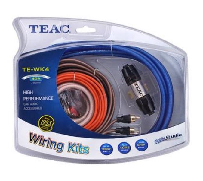 TEAC TE-WK4 Комплект кабелей для 2-х канального усилителя