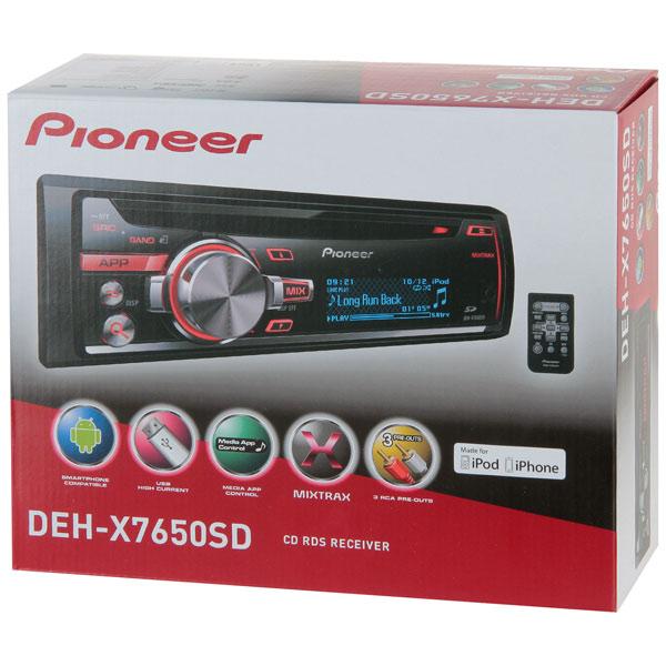Pioneer DEH-X7650SD
