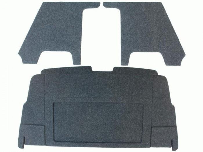 Полка акустическая для а/м Нива ( ВАЗ 2131, 4-дверная) с боковинами, с опорами